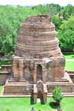 Architettura storica nella città di Ayutthaya Fotografia Stock