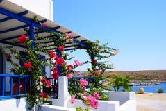 Architettura sull'isola di Kythera Fotografia Stock