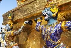 Architettura tailandese fotografia stock