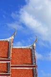 Architettura tailandese Fotografia Stock Libera da Diritti