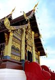 Architettura tailandese del tempiale immagini stock libere da diritti