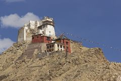 Architettura tibetana Immagine Stock Libera da Diritti