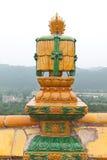 Architettura tibetana in tempio di Putuo Fotografie Stock Libere da Diritti