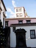 Architettura tipica a Funchal Madera fotografie stock libere da diritti