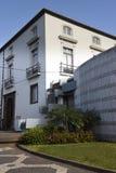 Architettura tipica nella città di Funchal Madera immagine stock libera da diritti