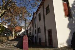 Architettura tipica nella città di Funchal Madera immagini stock libere da diritti