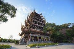 Architettura tradizionale cinese Fotografia Stock Libera da Diritti