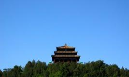 Architettura tradizionale cinese il museo del palazzo Immagine Stock Libera da Diritti