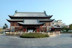 Architettura tradizionale cinese - Sanya immagini stock libere da diritti