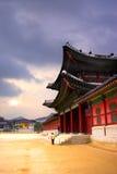 Architettura tradizionale coreana Immagine Stock