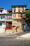 Architettura tradizionale dei Balcani Immagini Stock Libere da Diritti