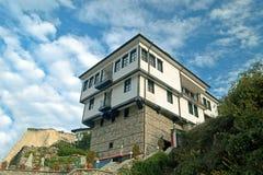 Architettura tradizionale della Bulgaria Fotografia Stock Libera da Diritti