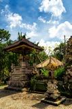 Architettura tradizionale di balinese. Il Gunung Kawi Immagini Stock Libere da Diritti
