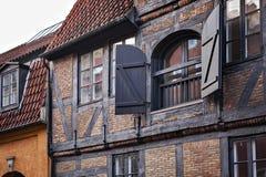 Architettura tradizionale di Copenhaghen Immagini Stock Libere da Diritti