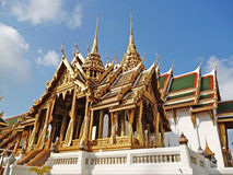 Architettura tradizionale tailandese Immagini Stock Libere da Diritti