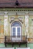Architettura urbana di mezzi, la Transilvania, Romania fotografia stock libera da diritti