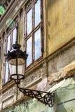 Architettura urbana di mezzi, la Transilvania, Romania immagine stock libera da diritti