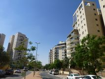 Architettura urbana moderna in Medio Oriente, Israele fotografie stock