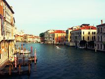 Architettura a Venezia, Italia Fotografie Stock