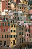 Architettura in Vernazza fotografie stock libere da diritti