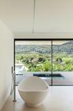 Architettura, vista del bagno immagine stock