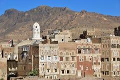 Architettura yemenita yemen fotografie stock libere da diritti