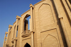 Architeture在卡塔拉,多哈,卡塔尔 库存图片
