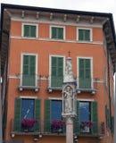 Architeture of the Piazza Bra,verona. Royalty Free Stock Photos