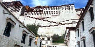 Architeture storico della Cina, il palazzo di potada fotografia stock
