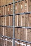 Archiv lizenzfreie stockfotografie