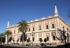 Archiv der Inseln, Sevilla Lizenzfreie Stockbilder