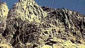 Sinai Saint Catherine Monastery walls stock video footage