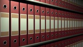 Archival un estante almacen de video