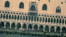 Archival Venice San Marco square stock video footage