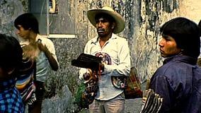 Archivalisch unsere Dame von Guadalupe von Mexiko stock video footage