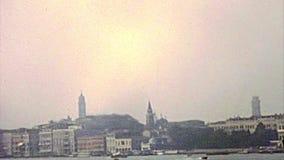 Archivalische Basilika Sans Giorgio Maggiore stock video footage