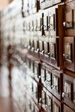 Archivalische Zelle Stockfotografie