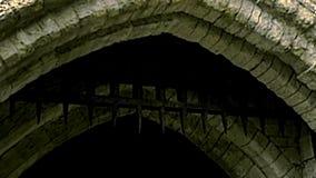 Archivalischer blutiger Turm des Schlosses von London stock video footage
