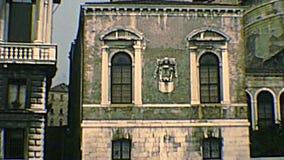 Archivalischer dei Venedigs Scuola Morti-Palast stock footage
