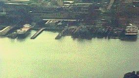 Archivalischer Hudson River stock footage