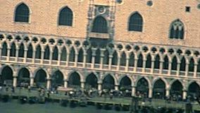 Archivalisches Quadrat Venedigs San Marco stock video footage