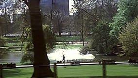 Archivalisches St. James Park von London stock video footage