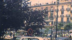 Archivalisches Straßenmarkt Valencias stock video footage