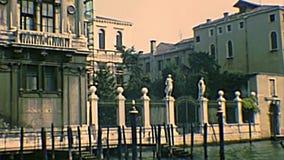 Archivalisches Venedig San Marcuola und Kasino stock video