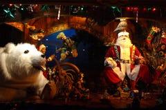 Archivbild der Weihnachtsdekoration in USA Stockbilder