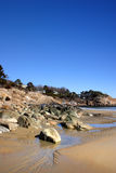 Archivbild des Gesang-Strandes, Massachusetts, USA Lizenzfreies Stockbild