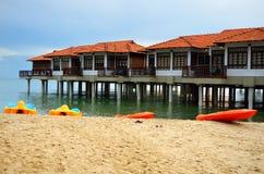 Archivbild des Hafens Dickson, Malaysia stockfoto