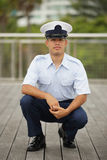 Archivbild eines Soldaten Lizenzfreie Stockbilder