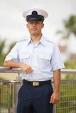 Archivbild eines Soldaten Stockbild