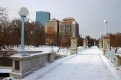 Archivbild von Boston-Winter Stockbilder